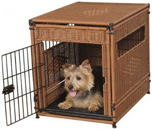 Wicker Dog Crates